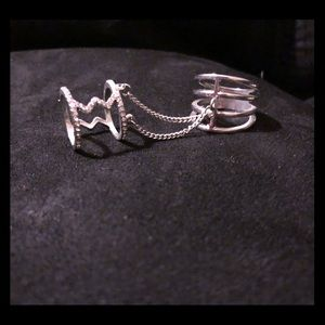 Jewelry - Silver Chain Ring